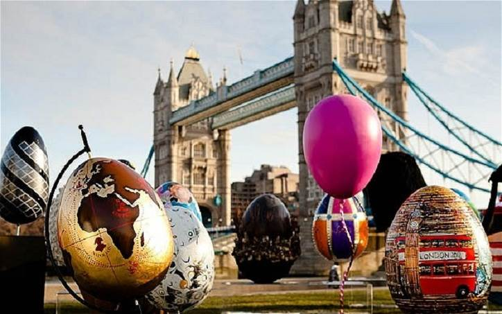 easter 2020 in london