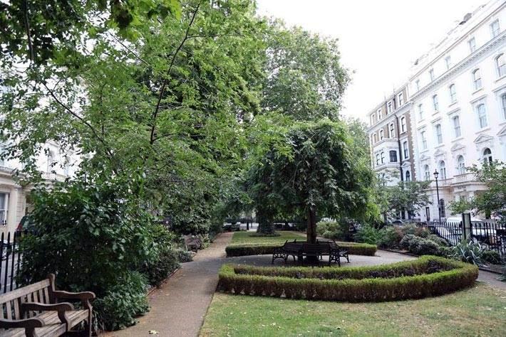Norfolk Square Gardens Paddington