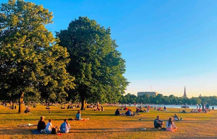Hyde Park and Kensington Gardens London