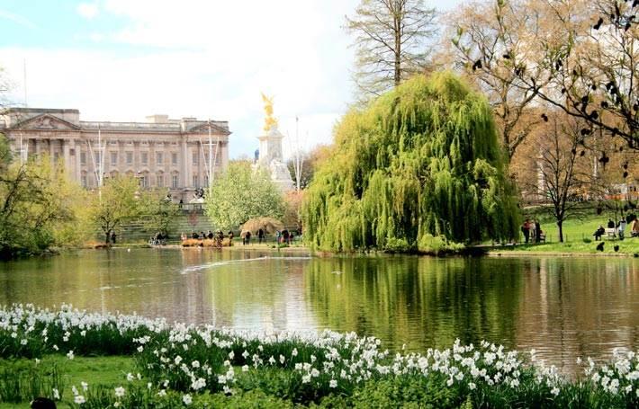 London Buckingham Palace Garden